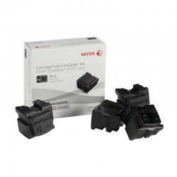 XEROX CQ8570 BLACK 1X4PZ SOLID INK ORIGINALE